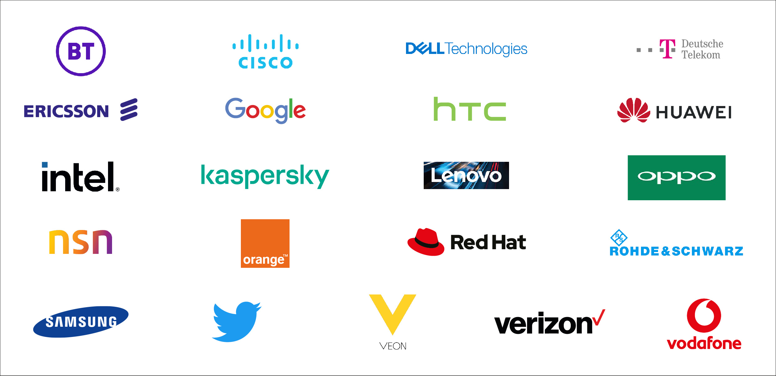 Confirmed Exhibitors for MWC Barcelona 2022